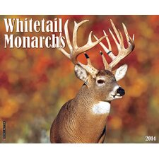 Whitetail Monarchs 2014 Wall Calendar