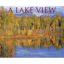 <strong>Willow Creek Press</strong> Lake View 2014 Wall Calendar