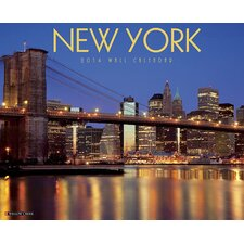 New York 2014 Wall Calendar
