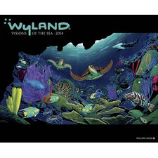 Wyland Visions of the Sea 2014 Wall Calendar
