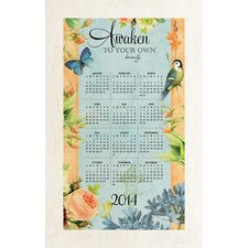 Songbirds and Blooms 2014 Towel Calendar