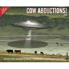 <strong>Willow Creek Press</strong> Cow Abductions! 2014 Wall Calendar