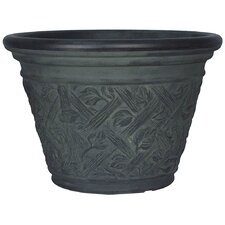 <strong>Planters Online</strong> Laurel Round Pot Planter
