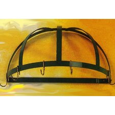 <strong>Rogar</strong> Gourmet Half Dome Wall Mounted Pot Rack