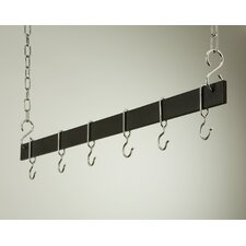 Gourmet Hanging Bar Pot Rack