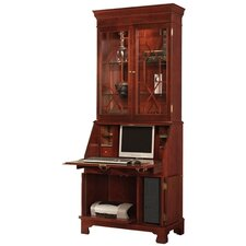 <strong>Jasper Cabinet</strong> Sterling Computer Secretary Desk with Hutch