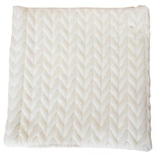 <strong>Northpoint Trading Inc.</strong> Lungarno Braided Micro-Mink Fabric Throw