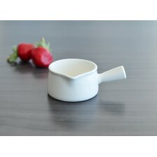 White Tie Mini Sauce Pot (Set of 4)