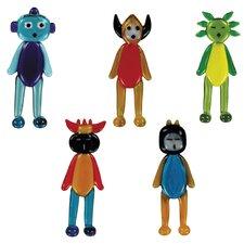 5 Piece Wa2C AlaniS, BakarE, CalidA, Dakota and EvaristA Figurine