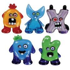 5 Piece Zoey, Harley, BoZ, BuFoRd and MIA Figurine