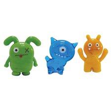 3 Piece Abima, Ox and Wage Figurine Set