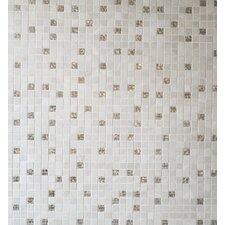 Saran 30 cm x 30 cm Tile in Mosaic Beige (Set of 6)