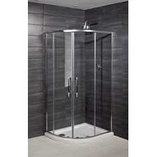 Deluxe 8 Offset Quadrant Shower Enclosure