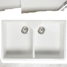 Gourmet 80 x 50cm Rectangular Kitchen Sink