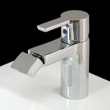 Passion Monobloc Bidet Tap without Pop-up Waste in Chrome