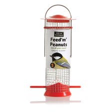 "Fed ""N"" Watered Feed ""M"" Peanuts Feeder"