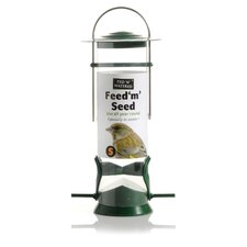 "Fed ""N"" Watered Feed ""M"" Seed Feeder"