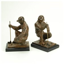 Golfer Book End (Set of 2)