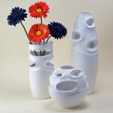 3 Piece Pierced Vase Set (Set of 3)