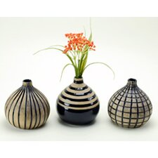 <strong>Modern Day Accents</strong> 3 Piece Onion Vase Set
