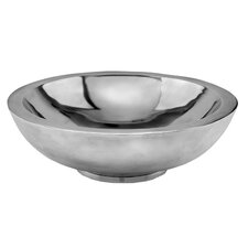 Aluminum Round Heavy Fruit Bowl
