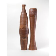 Tree Bark Vase (Set of 2)