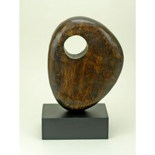 Wood Sculpture with Hole