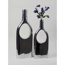 Aluminum See Thru Bottle (Set of 2)
