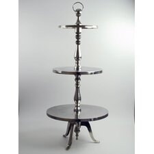 <strong>Modern Day Accents</strong> Aluminum 3 Tier Stand