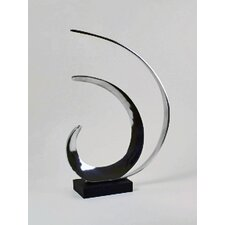 <strong>Modern Day Accents</strong> Wave Sculpture