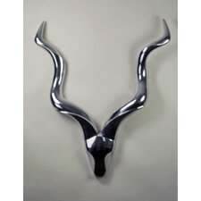 Aluminum Antelope Wall Decor
