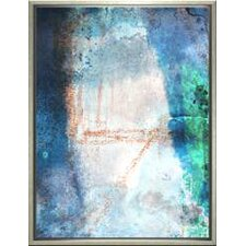 Modern Living Ice Age Framed Painting Print