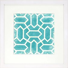 <strong>Indigo Avenue</strong> Modern Living Modern Symmetry V Framed Wall Art