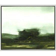 Modern Living Verdant Framed Painting Print