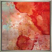 Modern Living Emerge Framed Painting Print