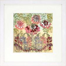 Floral Living Snapdragon I Framed Wall Framed Graphic Art