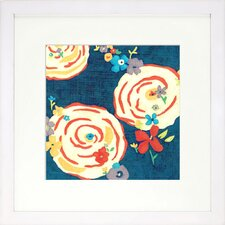 <strong>Indigo Avenue</strong> Floral Living Garden 4 Framed Wall Art