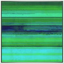 Modern Living Variegated Sky I Framed Painting Print
