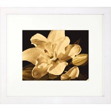 <strong>Indigo Avenue</strong> Floral Living Yvoire Flower I Framed Wall Art