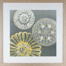 Modern Living Circular Memories II Framed Wall Art