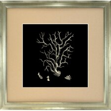 <strong>Indigo Avenue</strong> Seaside Living Coral I Framed Wall Art
