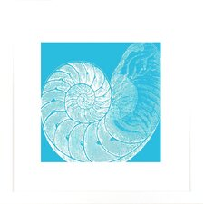 <strong>Indigo Avenue</strong> Seaside Living Saturated Shells IV Framed Wall Art