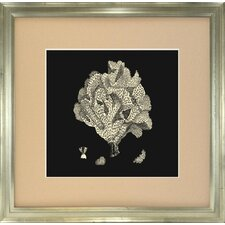 <strong>Indigo Avenue</strong> Seaside Living Coral IV Framed Wall Art