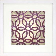 Modern Living Classical Symmetry IV Framed Graphic Art
