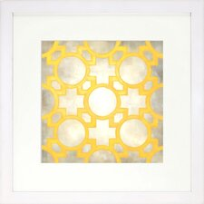 Modern Living Classical Symmetry V Framed Graphic Art