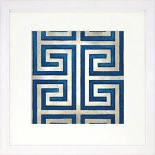 Modern Living Classical Symmetry VIII Framed Graphic Art