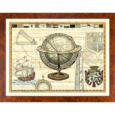 Fresh Traditions Living 'Nautical Map II' Framed Painting Print