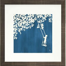 <strong>Indigo Avenue</strong> Seaside Living Summer at the Cottage II Framed Wall Art