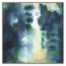 Modern Living Ocean Deep II Framed Painting Print