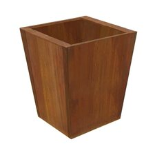 Corten Steel Origami Tapered Planter